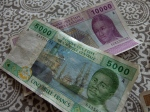 5000f ($10) 10000f ($20)